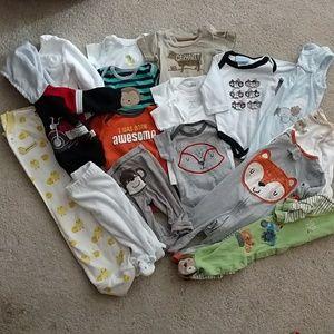 Adventure unisex baby 0-3 months set